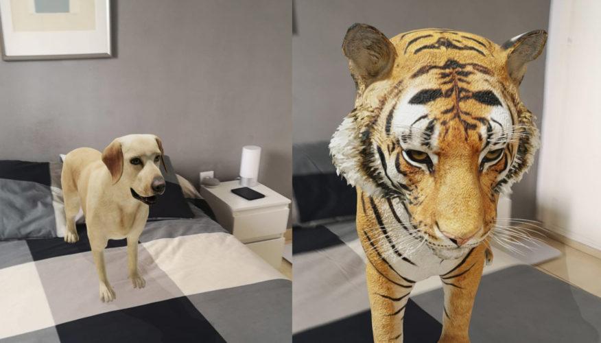 ¡Un animal en mi salón!